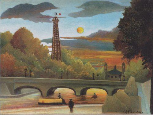 794px-Henri_Rousseau_-_Seine_und_Eiffelturm_in_der_Abendsonne_-_1910